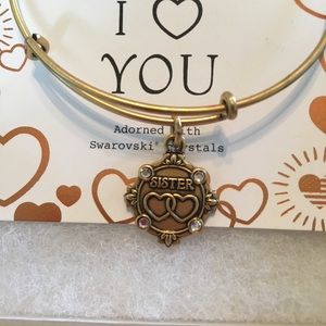 Alex and ani sisters iii from because I love you